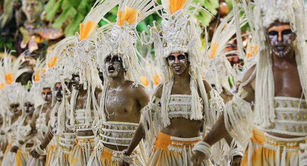 Carnaval en Río de Janeiro, Brasil