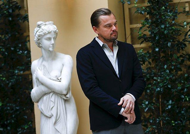 Leonardo DiCaprio, actor estadounidense