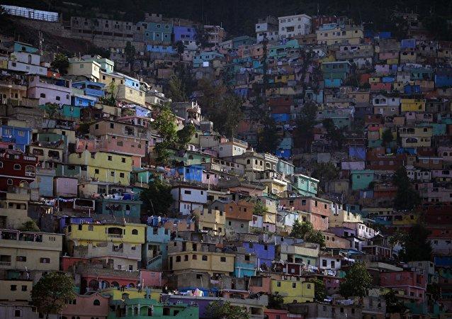 Barrio en Puerto Príncipe