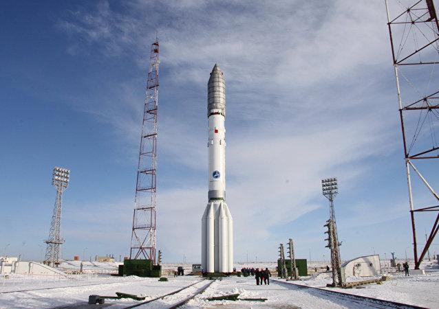 El cohete Protón-M