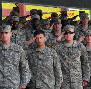 Soldados estadounidenses de la 101ª División Aerotransportada (Asalto Aéreo)