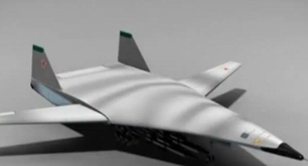 El bombardero furtivo ruso PAK DA (ilustración)