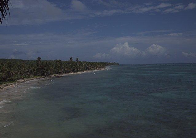 Costa de Little Corn Island