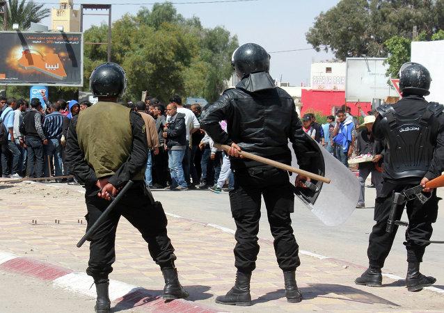 Policía en Túnez (Archivo)
