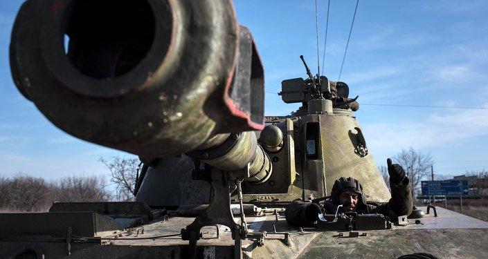 Artillería ucraniana (archivo)