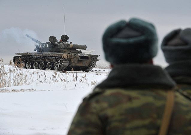 Militantes rusos