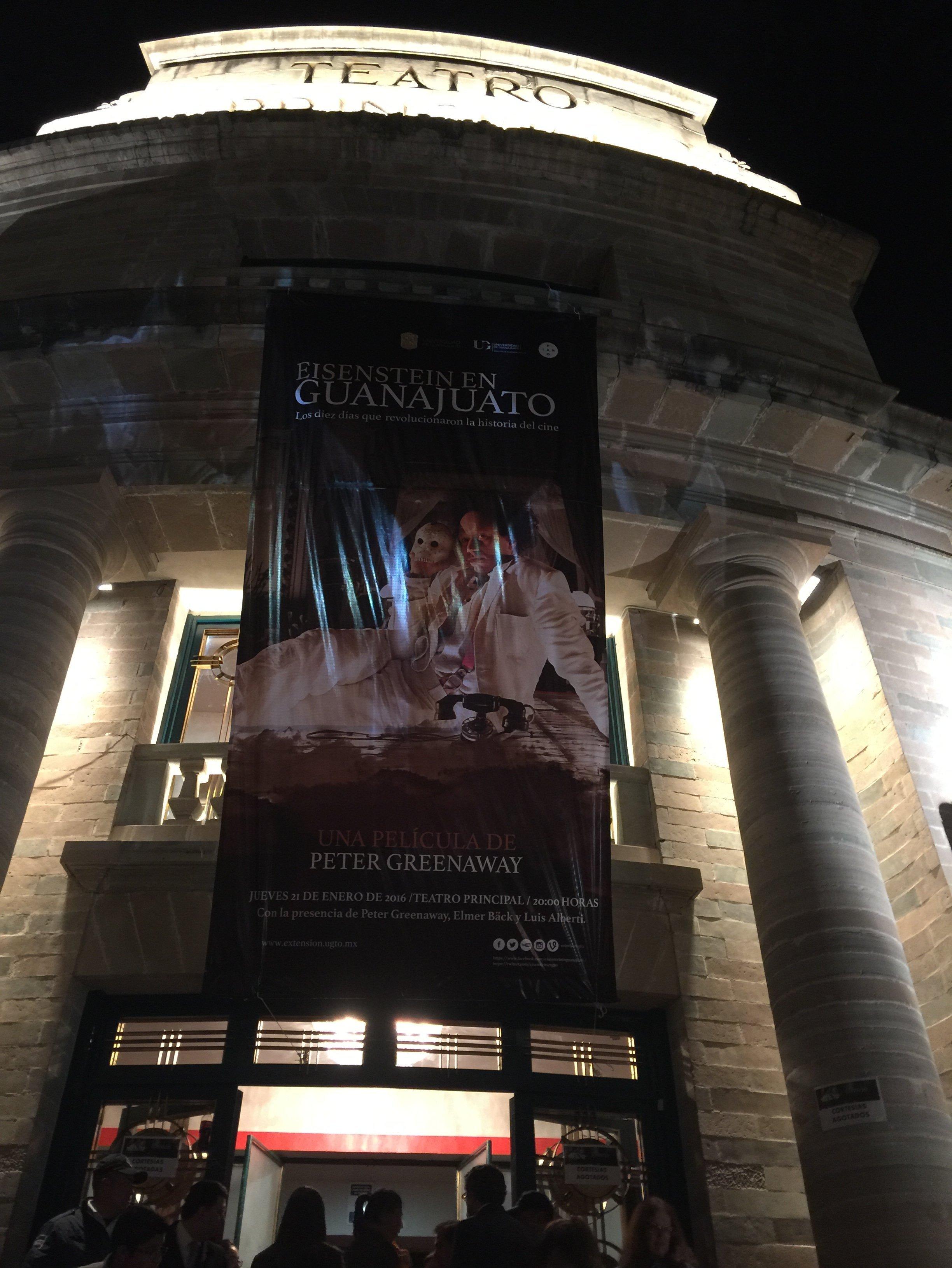 """Estreno de la película """"Eisenstein en Guanajuato"""""""
