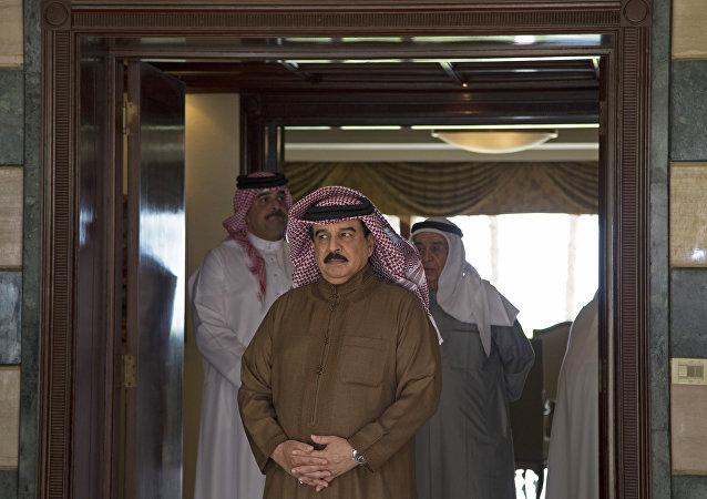 Hamad al Jalifa, el rey de Bahréin