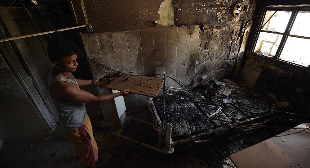 Dos hospitales de Alepo fueron alcanzados por bombardeos