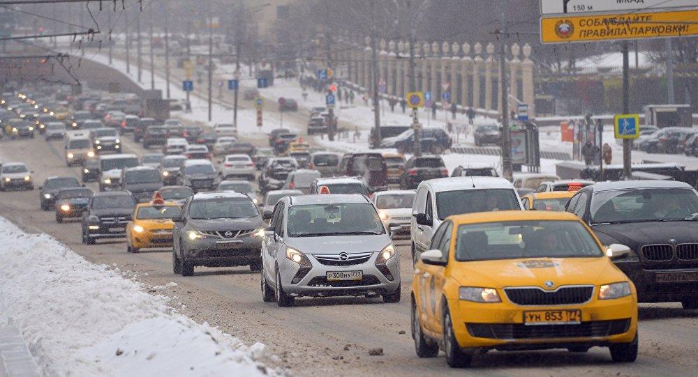 Automóviles en Moscú