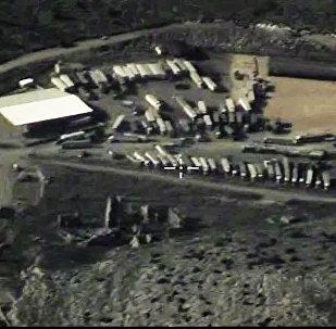 Los camiones cisterna de Daesh en la frontera turco-siria