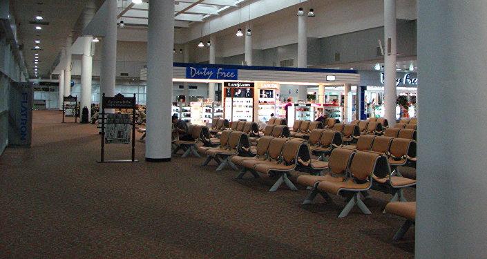 El aeropuerto de Chiang Mai