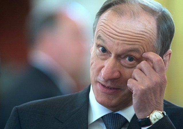 Nikolái Pátrushev, secretario del Consejo de Seguridad Nacional