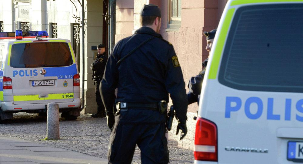 Policías suecos (archivo)