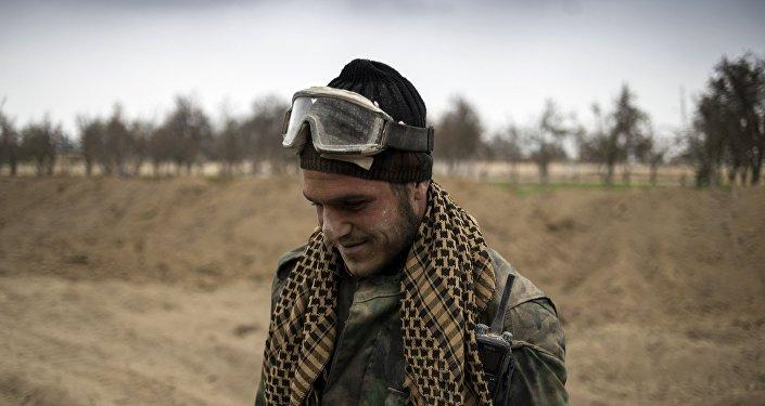 Soldado de Ejército Árabe Sirio