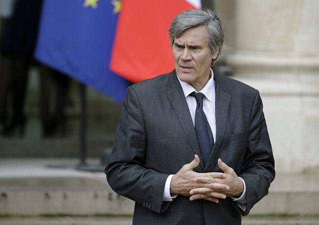 Stephane Le Foll, el ministro de Agricultura de Francia