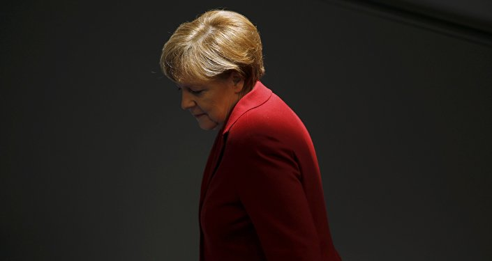 Angela Merkel, canciller federal de Alemania