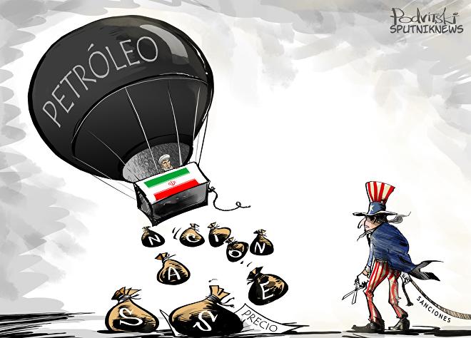 El vuelo libre de Irán en el mercado petrolero