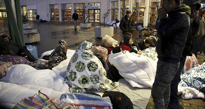 Migrantes en Suecia