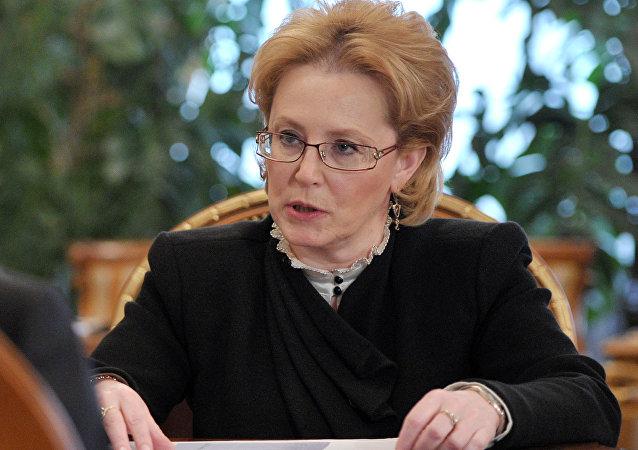 Veronika Skvortsova, la ministra de Salud de Rusia