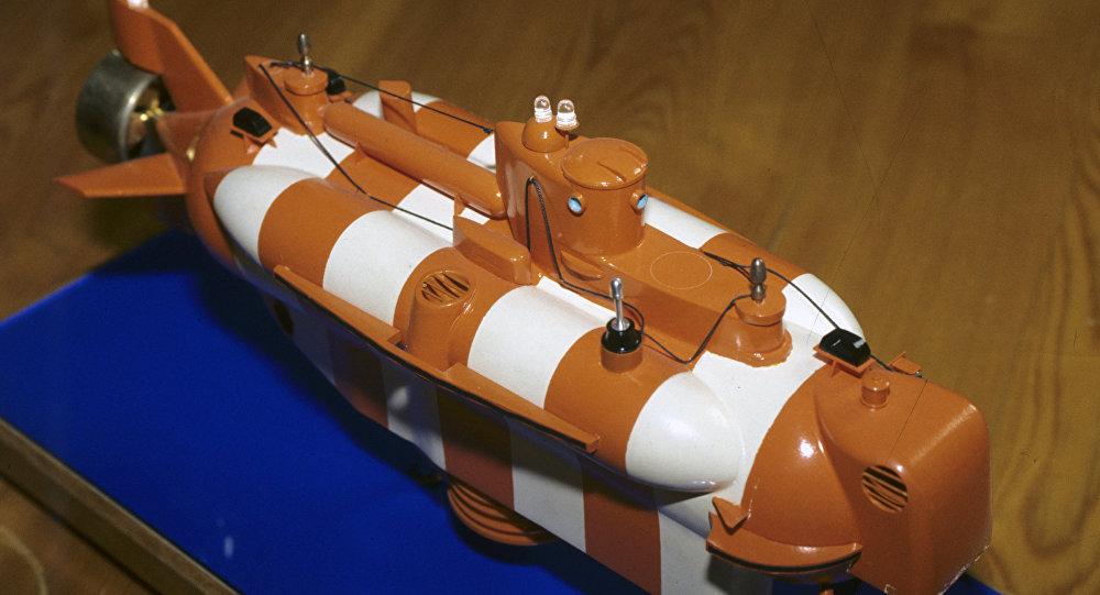 Un modelo del buque Bester-1