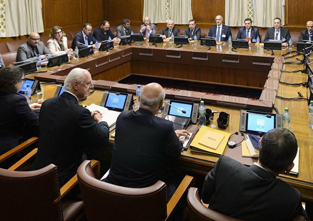 Las negociaciones en Ginebra (archivo)