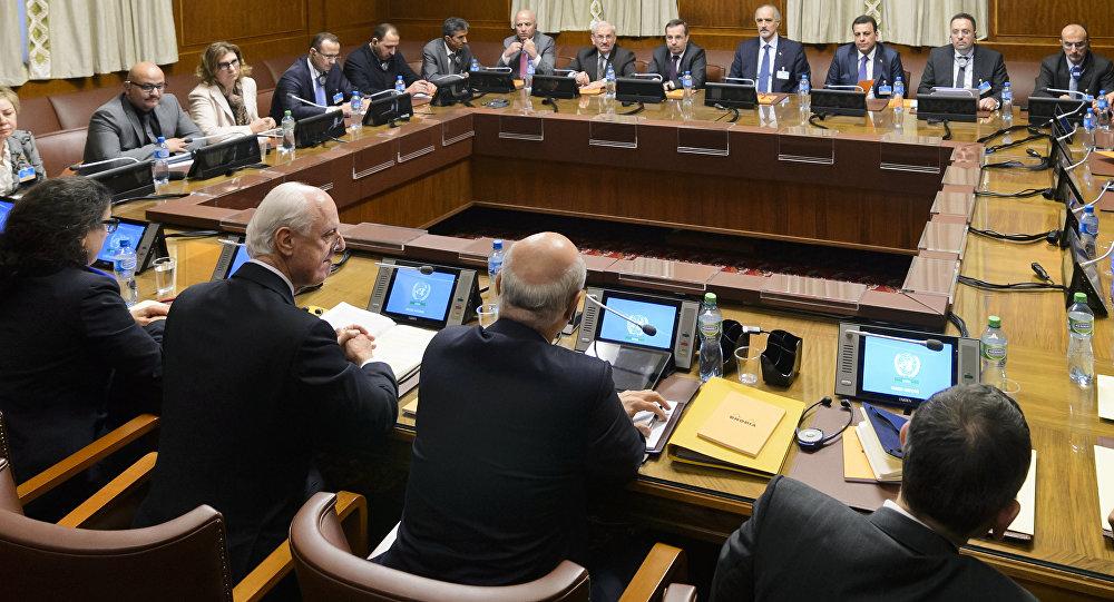 Negociaciones en Siria