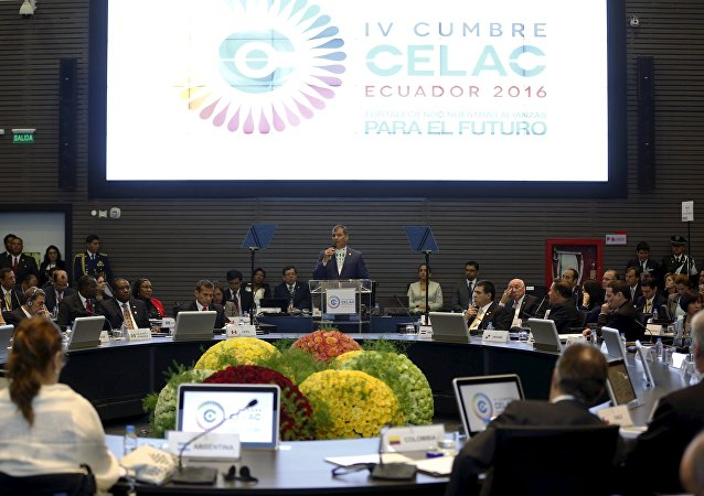 La IV Cumbre de la Comunidad de Estados Latinoamericanos y Caribeños (CELAC)