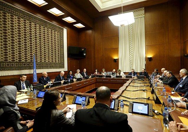Consultas sobre Siria en Ginebra, Suiza