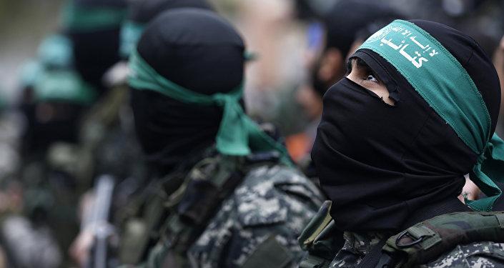 Militantes del movimiento Hamás (archvio)