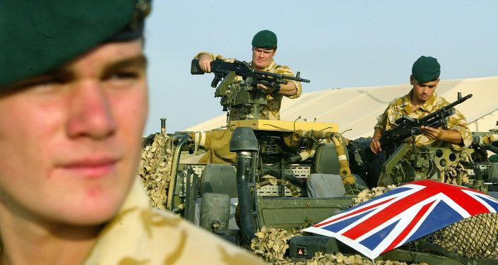Soldados del ejército de Reino Unido (archivo)