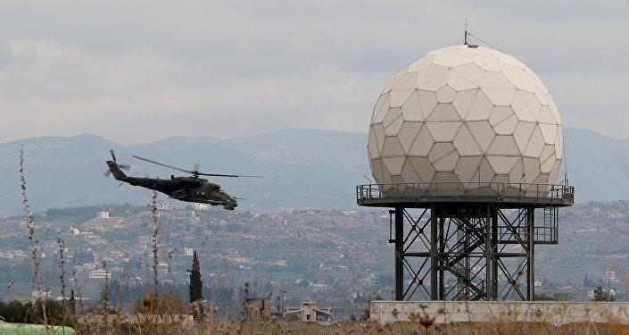 La base militar rusa Hmeymim en Siria (archivo)