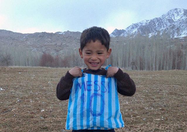 Murtaza Ahmadi, el pequeño Messi afgano