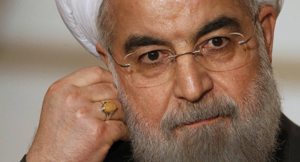 El presidente de Irán Hassan Rouhaní