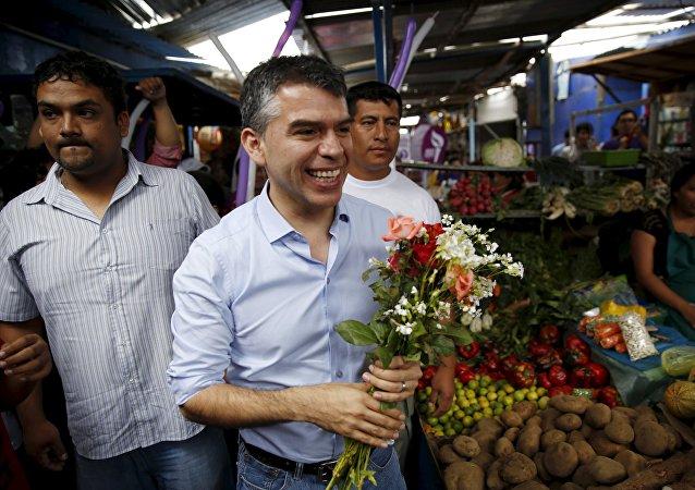 Julio Guzmán, candidato a la presidencia de Perú