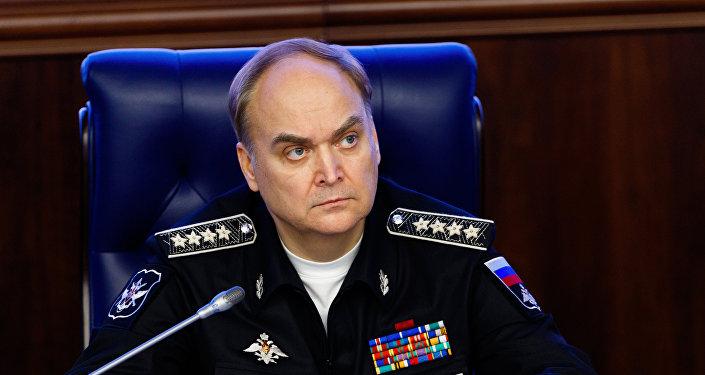 Anatoli Antónov, viceministro de Defensa ruso
