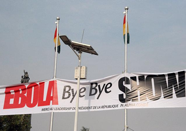 El concierto Hasta la vista, Ébola en Guinea