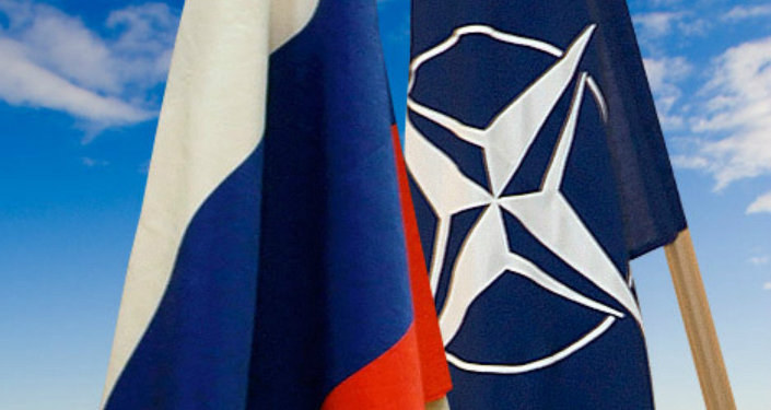 Banderas de Rusia y la OTAN