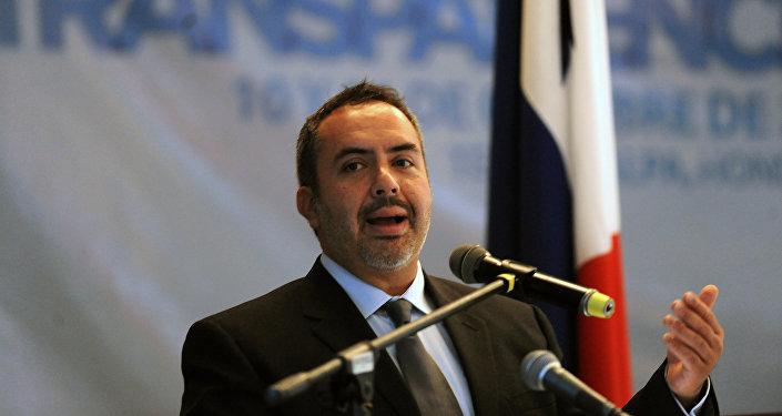 Alejandro Salas, director regional de la ONG Transparencia Internacional en América Latina y el Caribe (TILAC)