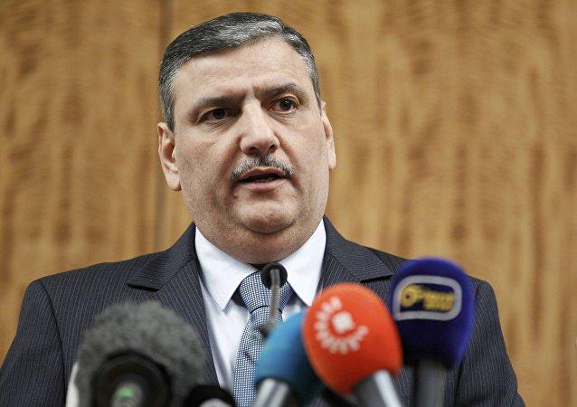 Riad Hiyab, jefe del del Alto Comité de Negociaciones de Siria