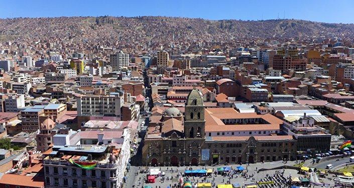 La Paz, la capital de Bolivia (archivo)