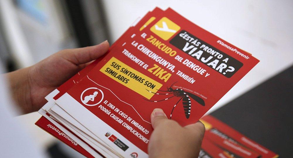 Información sobre el virus Zika para jos viajeros en Perú