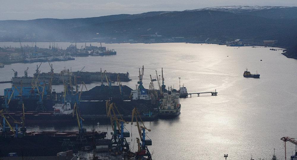 Puerto de carga de Múrmansk