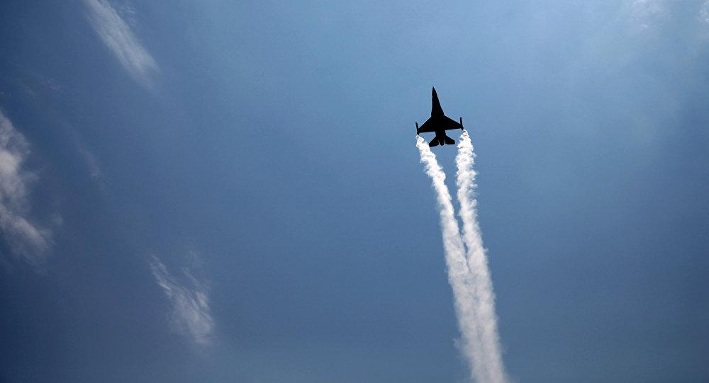 Avión de la Fuerza Aérea de Turquía (imagen referencial)