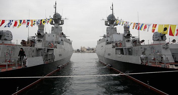 Buques lanzamisiles ligeros Zelioni Dol y Serpujov de la Flota rusa del mar Negro