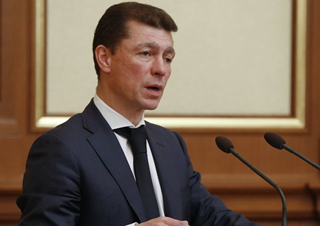 Maxim Topilin, Ministro de Trabajo y Protección Social de Rusia