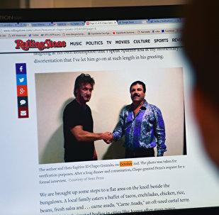 La entrevista de Sean Penn con El Chapo Guzmán en el sitio web de la revista Rolling Stone