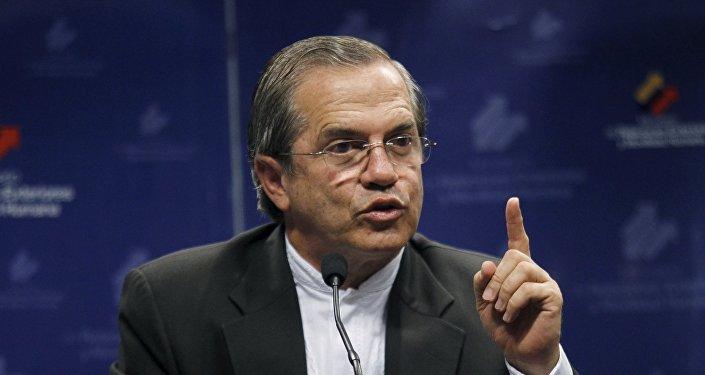 Ricardo Patiño, canciller de Ecuador