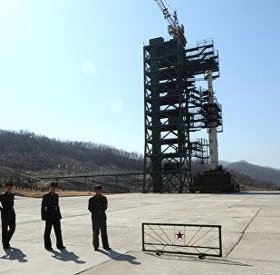 Polígono nuclear de Corea del Norte en la base de Sohae