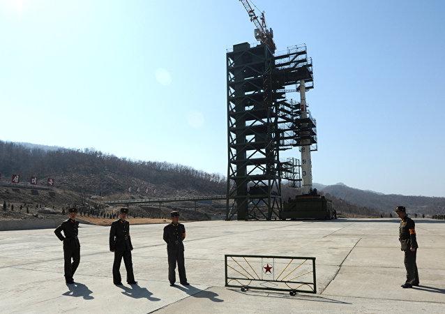 Polígono nuclear de Corea del Norte en Sohae (archivo)